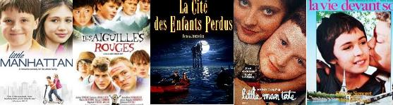 Coming of Age movies L selection 3 : Little Manhattan -- Les Aiguilles Rouges -- La Cité des Enfants Perdus -- Little Man Tate -- Little Man Tate -- La Vie devant soi
