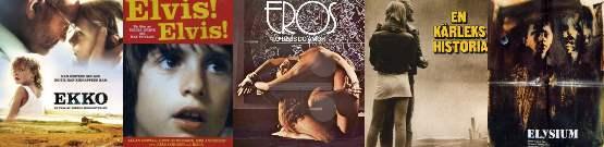 Coming of age movies : Ekko , ELVIS! ELVIS! ,Eros, O Deus do Amor ,En Karlekshistoria ,Elysium