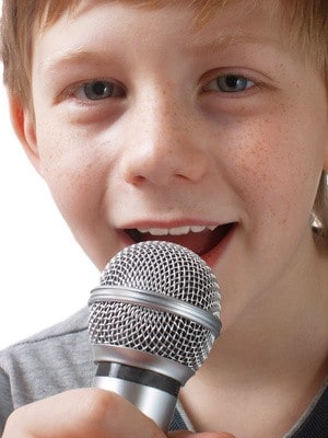 My voice broke!