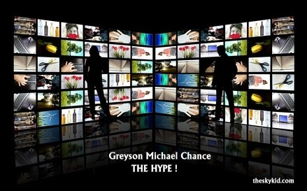 Greyson Michael Chance the hype