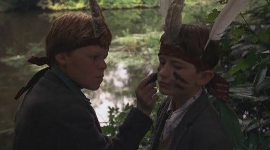 Eamonn Owens and Alan Boyle in The Butcher Boy
