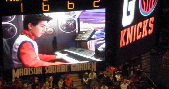 Christopher McGinnis at Madison Square Garden