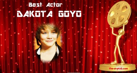 Best Actor Award Dakota Goyo
