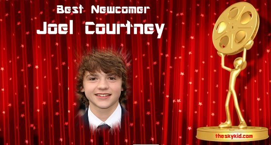 Best Newcomer Joel Courtney.