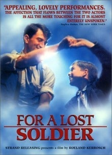 For A Lost Soldier dvd cover