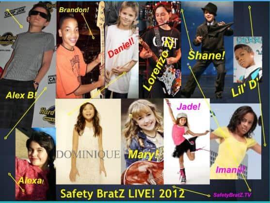 SafetyBratZ LIVE 2012 Honorary Cast