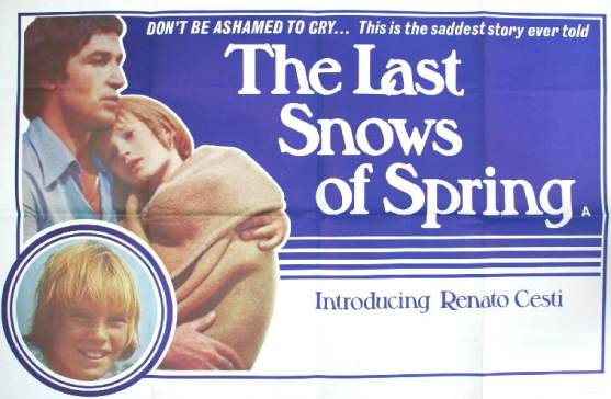 The Last Snows of Spring 1973 Original Poster