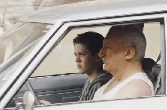 Robert Naylor and Paul James Saunders in Alone with Mr. Carter