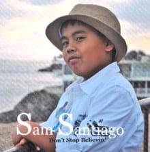Sam Santiago CD cover