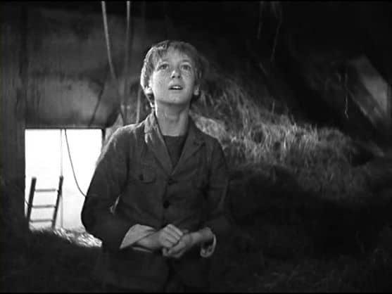"Robert Lynen as Francoise Lepic in Julien Duvivier's ""Poil de Carotte"" (France, 1932)."