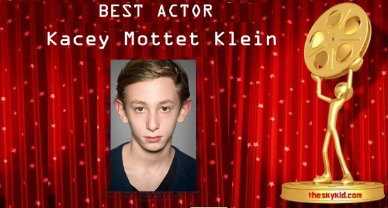 Best Actor – Kacey Mottet Klein