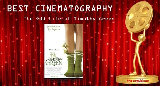 Best Cinematography - The Odd Life of Timothy Green