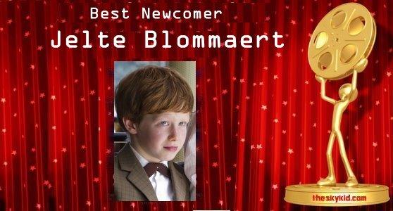 Best Newcomer- Jelte Blommaert