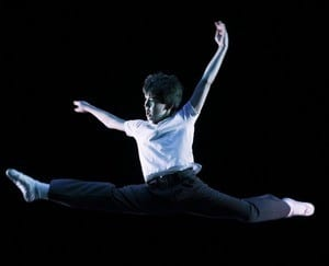 Alex Ko as Billy Elliot (Cropped Version)
