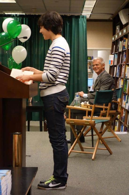 Alex and Stephen Daldry at a Book Signing Event