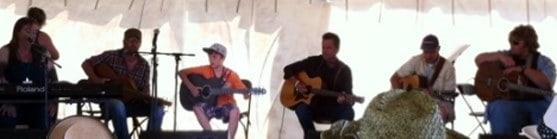 Cameron Molloy at the Stan Rogers Folk Festival 2012