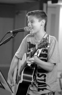 Cameron Molloy performing