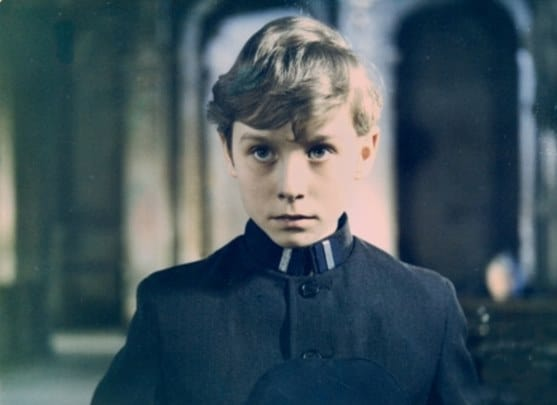 Tomasz Hudziecas the young Mikolaj in the 1972 Polish film Zmory