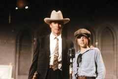 Kyle Eastwood and  Clint Eastwood in  Honkytonk Man