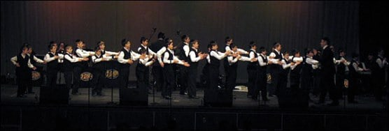 The Yeshiva Boys Choir in concert