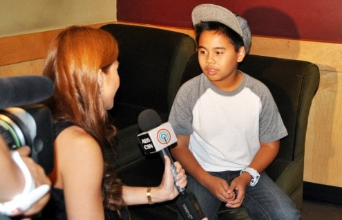 Interview with Gretchen Fullido with ABS CBN's TV Patrol