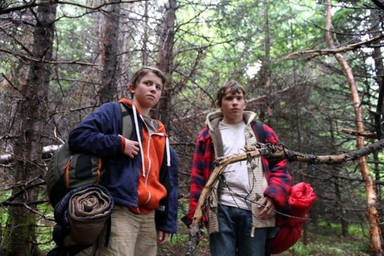 Douglas Sullivan (Curtis) and Avery Ash (Michael) in Hold Fast (2013)