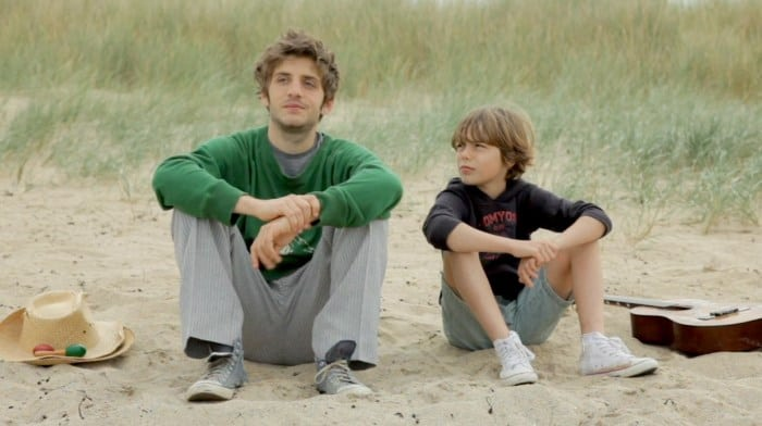 Leo ( Aurelio Cohen ) and Theo (Jules Sagot ) in You'll Be a Man