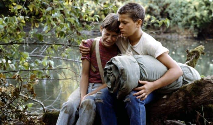 Scene from a classic Coming-of-Age film Stand by Me (1986)