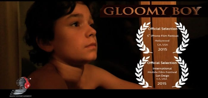 Elie - the young protagonist of Gloomy Boy