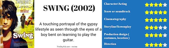 A touching portrayal of the gypsy lifestyle as seen through the eyes of a boy bent on learning to play the guitar