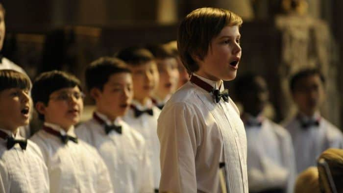 Garrett Wareing as Step in BoyChoir