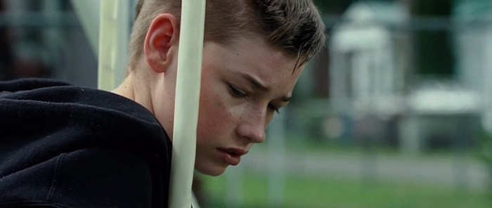 Jacob Lofland plays Owen Briggs in Liitle Secrets