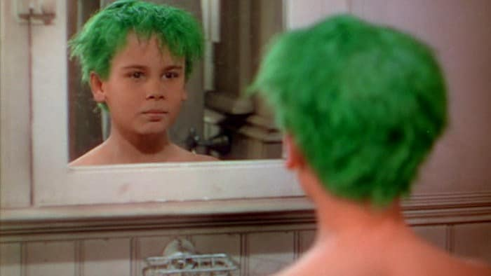 Dean Stockwell as Peter in The Boy with Green Hair