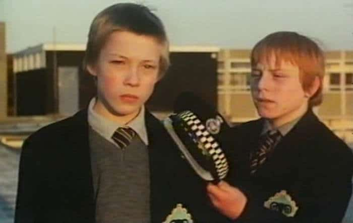 Richard Thomas and Peter Clark in Bloody Kids