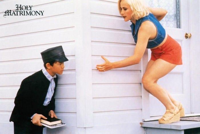 HOLY MATRIMONY, Joseph Gordon-Levitt, Patricia Arquette, 1994