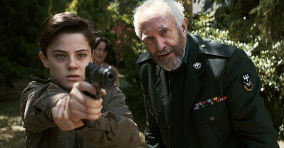 Lorenzo Allchurch stars as Djata and his grandfather and regime colonel (Jonathan Pryce)