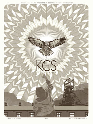 Official KES film poster