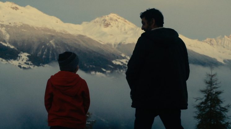 Father ( Pascal Gravat ) and Son ( Alessio Balossi) in The Big Dam (2015)